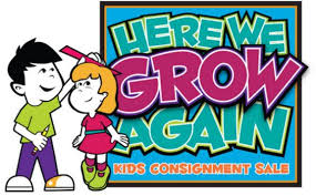 Here We Grow Again Kids Consignment Sale FDD